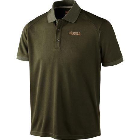 Harkila Gerit Polo Shirt - Dark Olive
