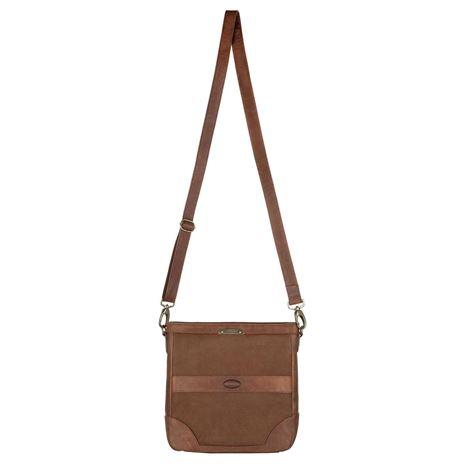 Dubarry ArdMore Leather Messenger Bag - Walnut