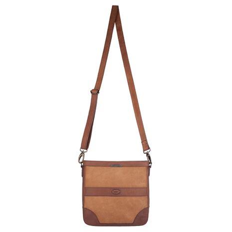 Dubarry ArdMore Leather Messenger Bag - Brown