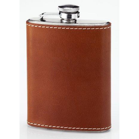 Laksen Leather Pocket Flask