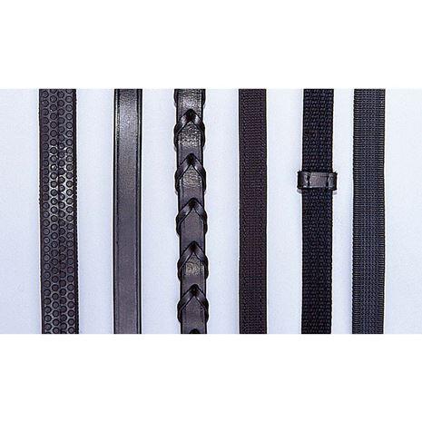 JHL Plain Reins - Black - #2
