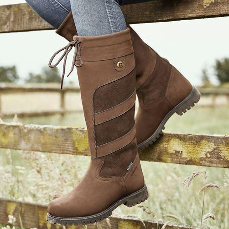 Dublin Kennet Boots - Chocolate - Outdoors