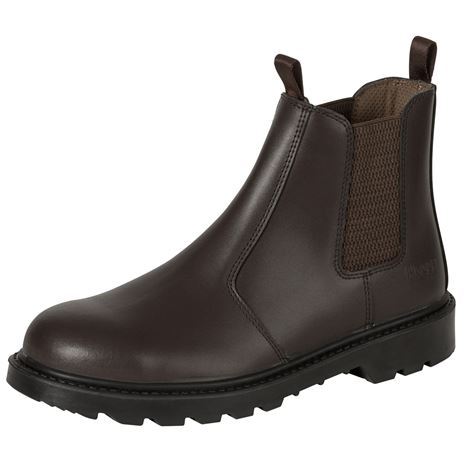 Hoggs of Fife Classic D3 Safety Dealer Boot - Brown