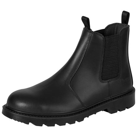Hoggs of Fife Classic D2 Safety Dealer Boot - Black