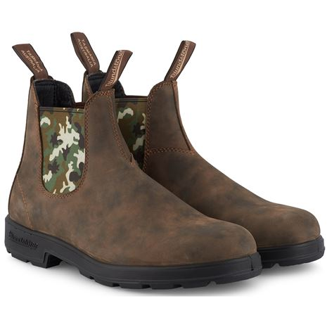 Blundstone 1612 Classic Chelsea Boots - Rustic Brown