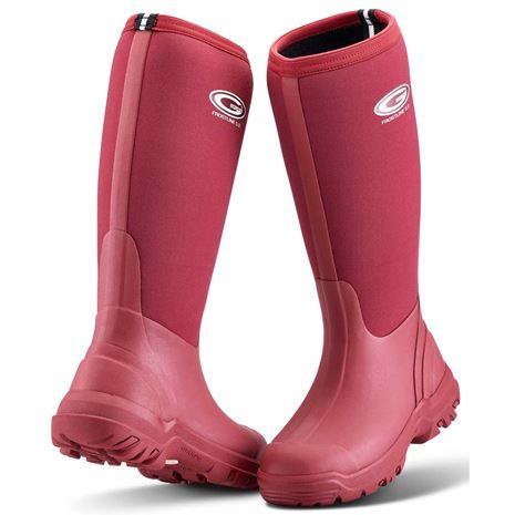 Grubs Frostline 5.0 Wellington Classic Ladies Boot - Berry