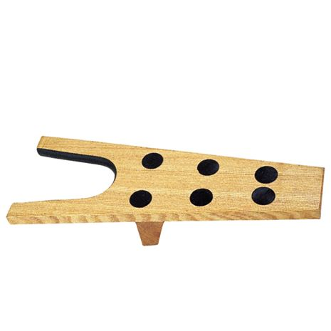 Roma Wooden Boot Jack with Rubber Grip