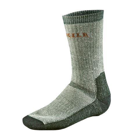 Expedition Socks - Grey/Green