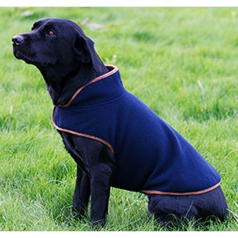 Jack Pyke Fleece Dog Coat - Navy detail