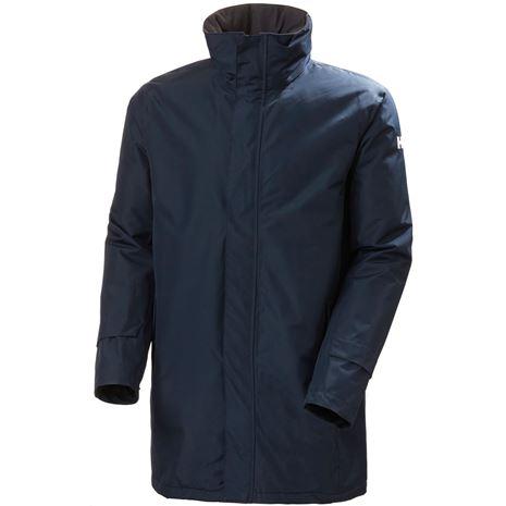 Helly Hansen Dubliner Insulated Long Jacket - Navy