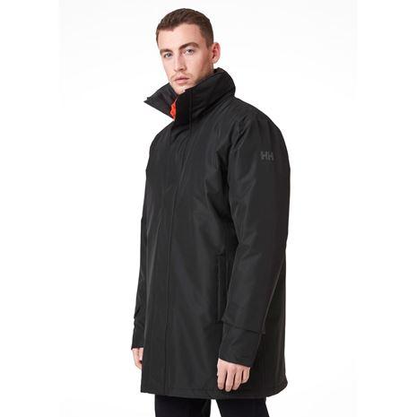 Helly Hansen Dubliner Insulated Long Jacket - Black