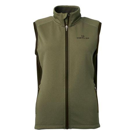 Chevalier Lenzie Women's Fleece Vest - Tobacco/Brown