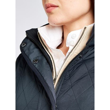 Dubarry Clonmel Women's Quilted Gilet - Navy