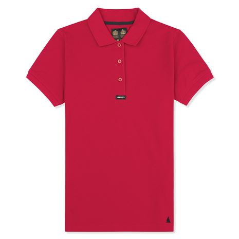 Musto Women's Pique Polo Shirt - True Red