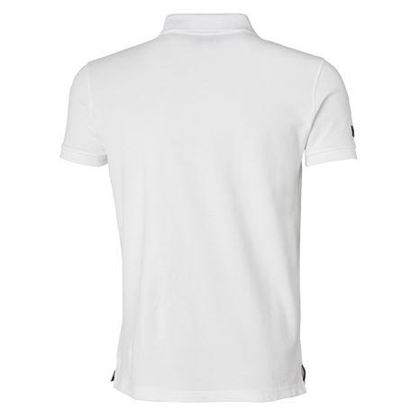 Helly Hansen Crew Polo Shirt - White - Rear