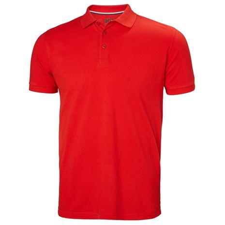 Helly Hansen Crew Polo Shirt - Alert Red