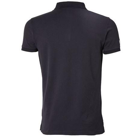 Helly Hansen Crew Polo Shirt - Navy - Rear