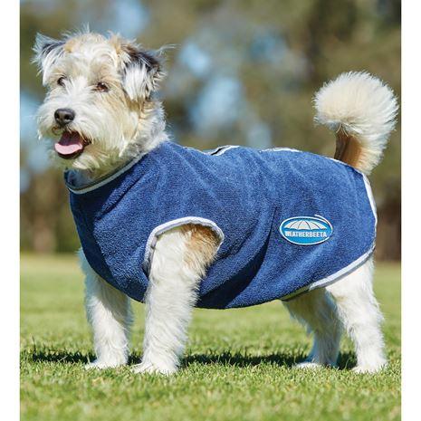 WeatherBeeta Cozi-Dri Dog Coat - Blue Grey