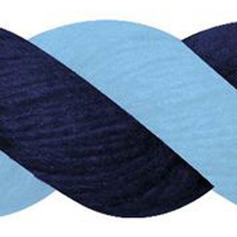 JHL Cotton Lead Rope - Navy/Lt Blue