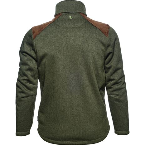 Seeland Dyna Knit Fleece Forest Green - Rear