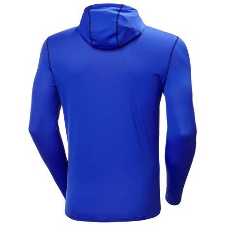 Helly Hansen HH Lifa Active Solen Hoodie - Royal Blue - Rear