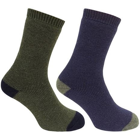 Hoggs of Fife Country Short Sock (Twin Pack)