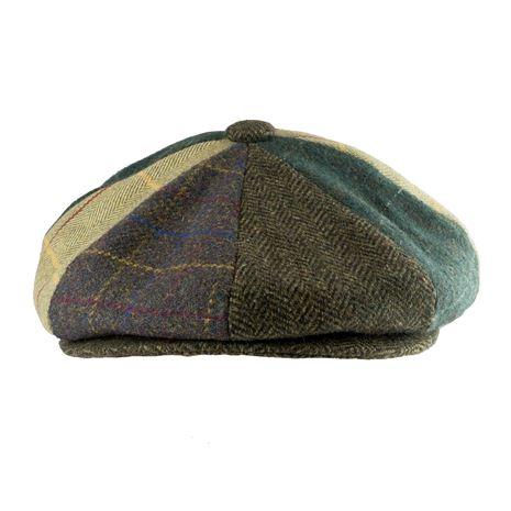 Jack Pyke Baker Boy Wool Blend Hat - Patchwork