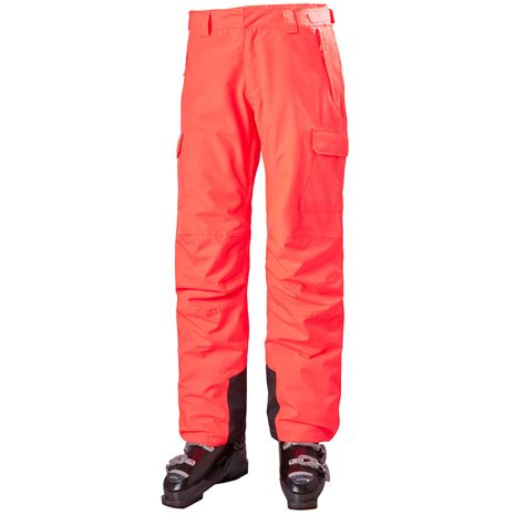 Helly Hansen Women's Switch Cargo Insulated Pants - Neon Coral