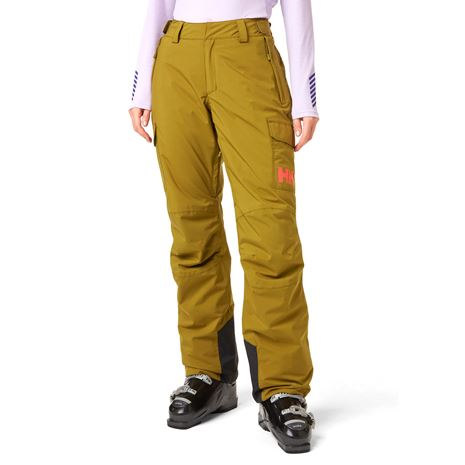 Helly Hansen Women's Switch Cargo Insulated Pants - Uniform Green