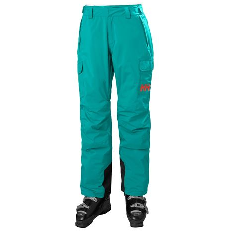 Helly Hansen Women's Switch Cargo Insulated Pants - Turquoise