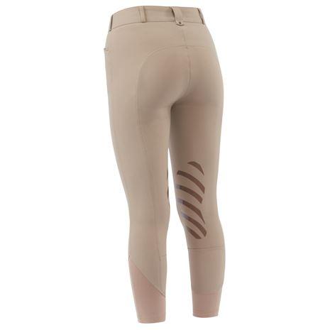Dublin Prime Gel Knee Patch Breeches - Beige - Rear