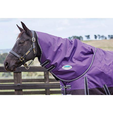 WeatherBeeta ComfiTec Plus Dynamic Neck Rug - Purple/Black
