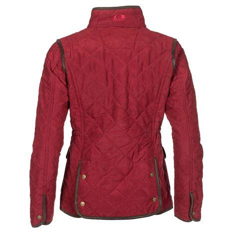 Baleno Hepburn Womens Jacket - Brick - Rear