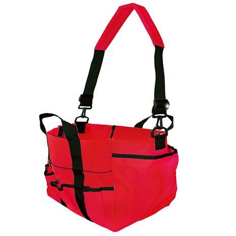 Stablekit Deluxe Tote Bag - Red/Black