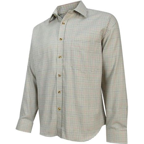 Hoggs of Fife Skye Mid Size Tattersall Shirt
