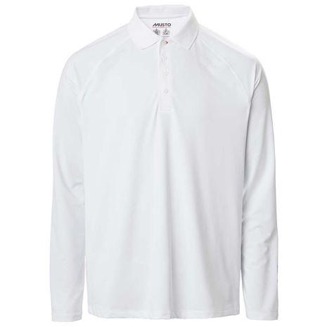 Musto Evolution Sunblock Long Sleeve Polo 2.0 - White