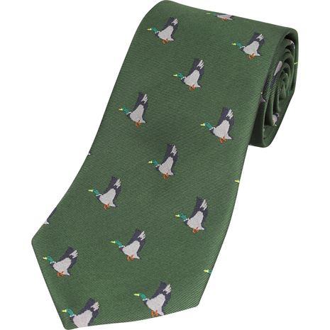 Jack Pyke Shooting Tie - Green Duck