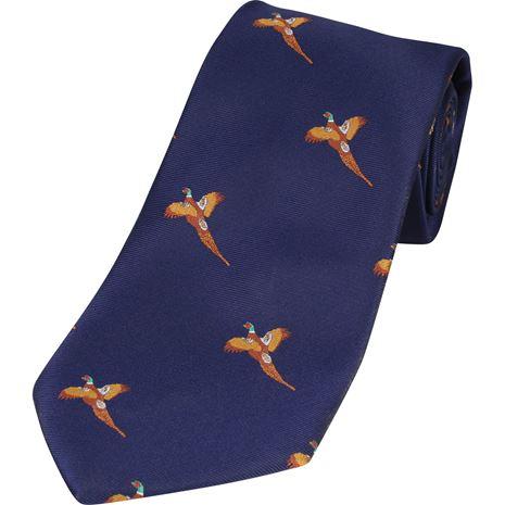 Jack Pyke Shooting Tie - Navy Pheasant