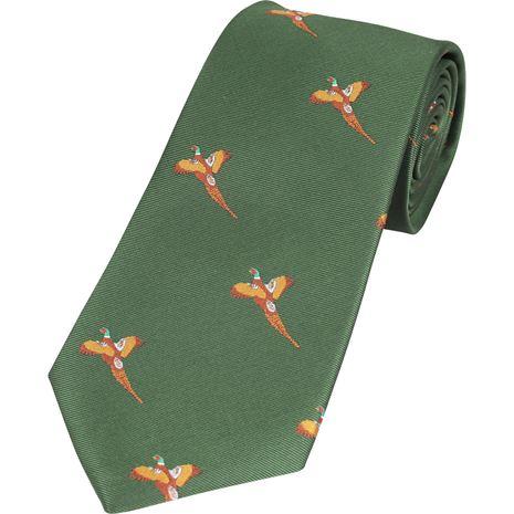 Jack Pyke Shooting Tie - Green Pheasant