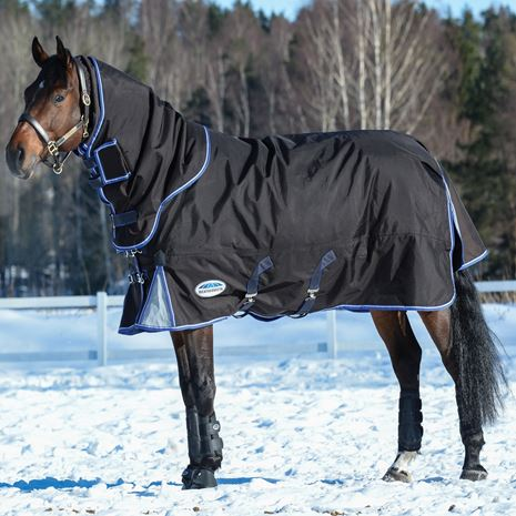 WeatherBeeta Comfitec Ultra Cozi Hvy Wt T/Out Rug - Charcoal/Blue/White