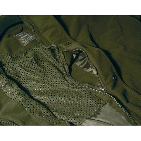 Jack Pyke Hunters Jacket - Detail Hunters Green