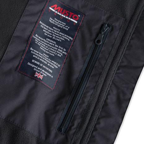 Musto Women's Snug Gilet - Navy - Lining/Pocket detail