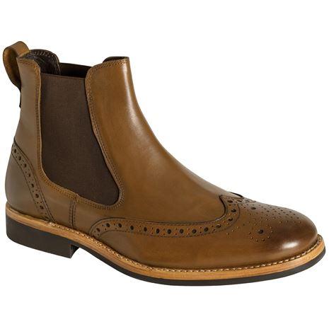 Hoggs of Fife Stanley Semi-Brogue Dealer Boots
