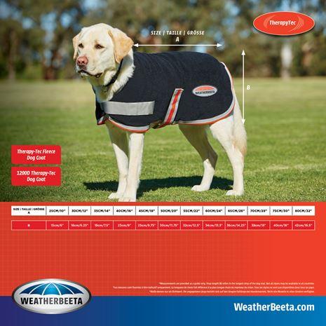 WeatherBeeta Therapy-Fleece Tec Dog Coat