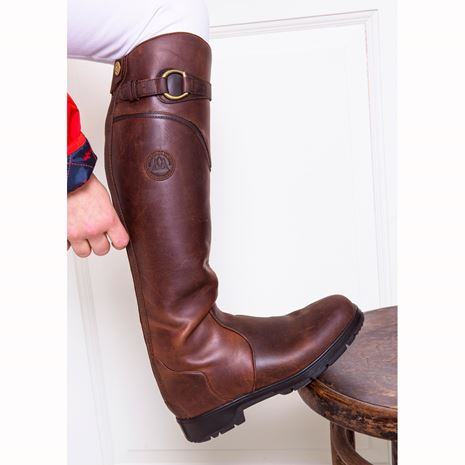Mountain Horse Spring River Boots - Brown - Zip Detail