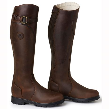 Mountain Horse Spring River Boots - Brown - Pair View