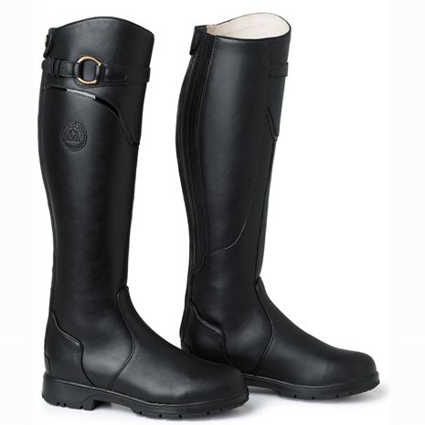 Mountain Horse Spring River Boots - Black - Pair View