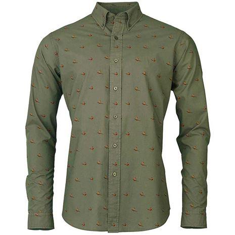 Laksen Flush Shirt - Forest Green