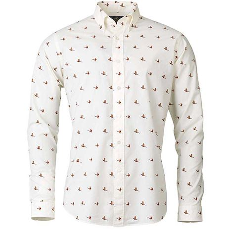 Laksen Flush Shirt - Cream
