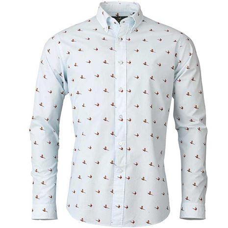 Laksen Flush Shirt - Sky Blue